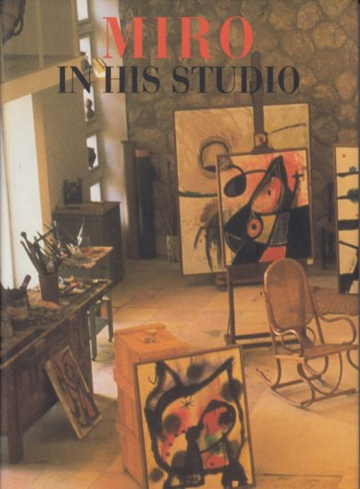 12. Miro in his studio 0